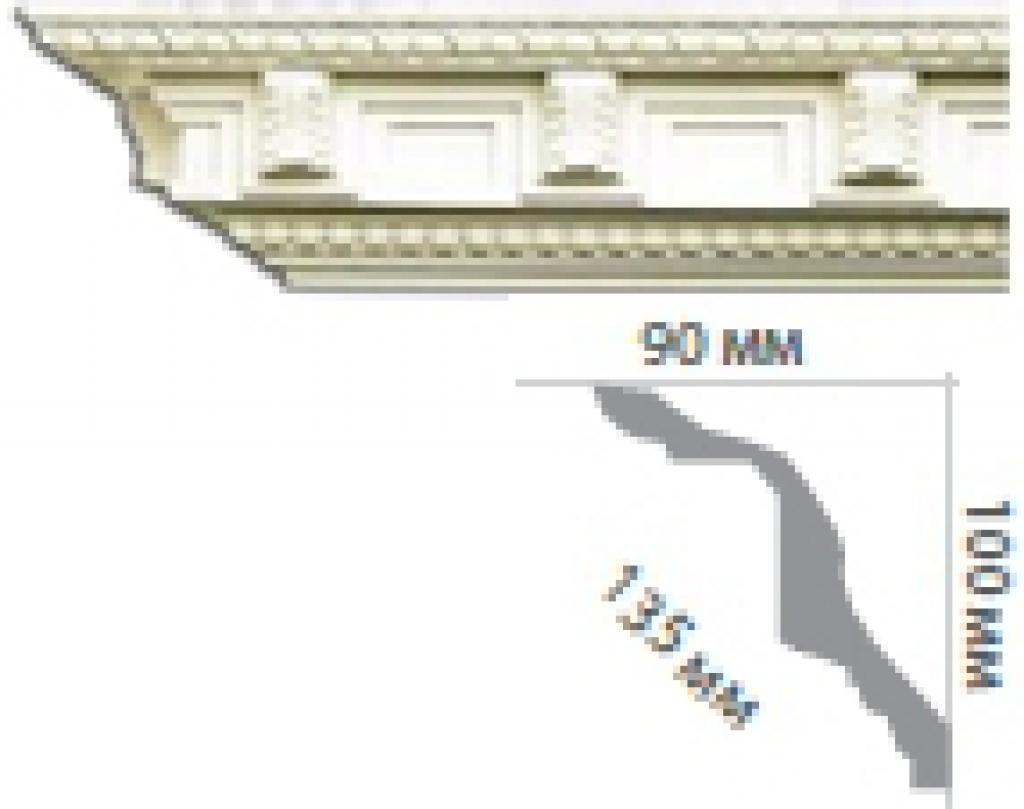 Карниз с орнаментом C1097
