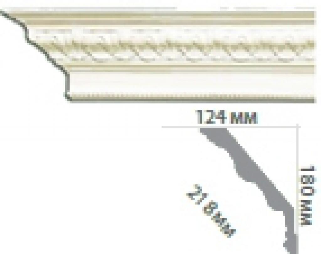 Карниз с орнаментом C110