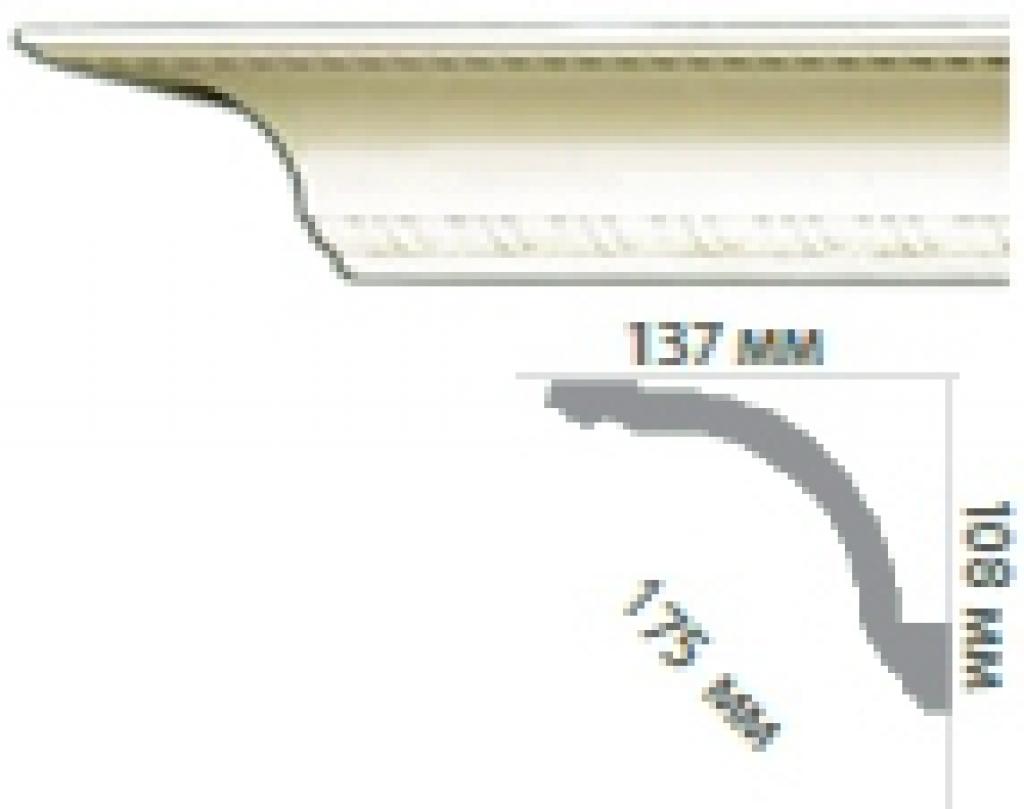 Карниз с орнаментом C122
