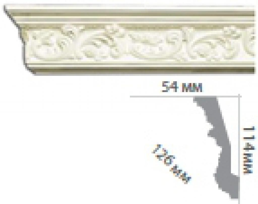 Карниз с орнаментом C124 FLEXI