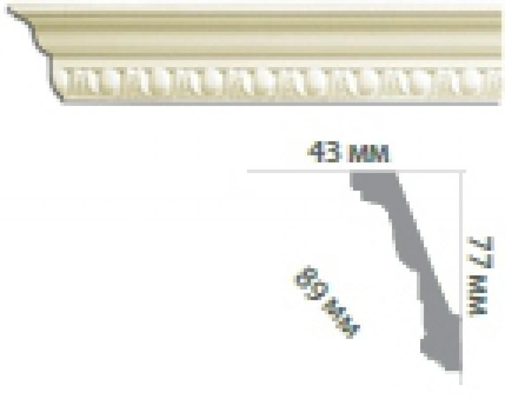Карниз с орнаментом C128