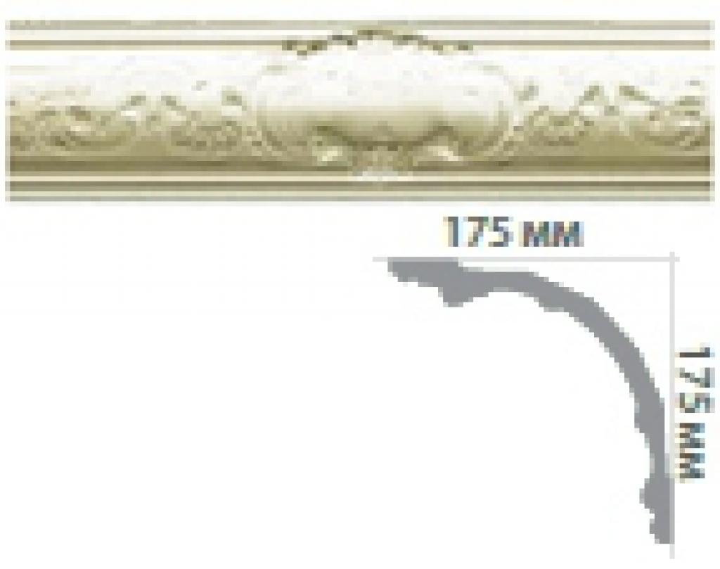 Карниз с орнаментом C150