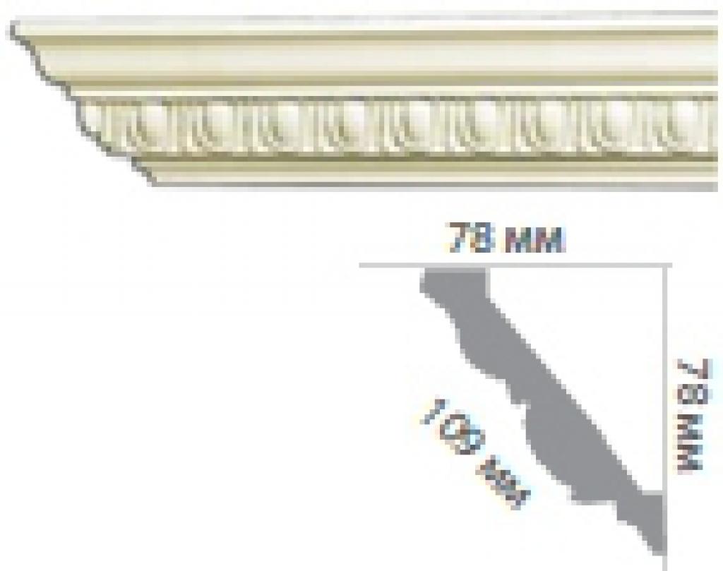 Карниз с орнаментом C152