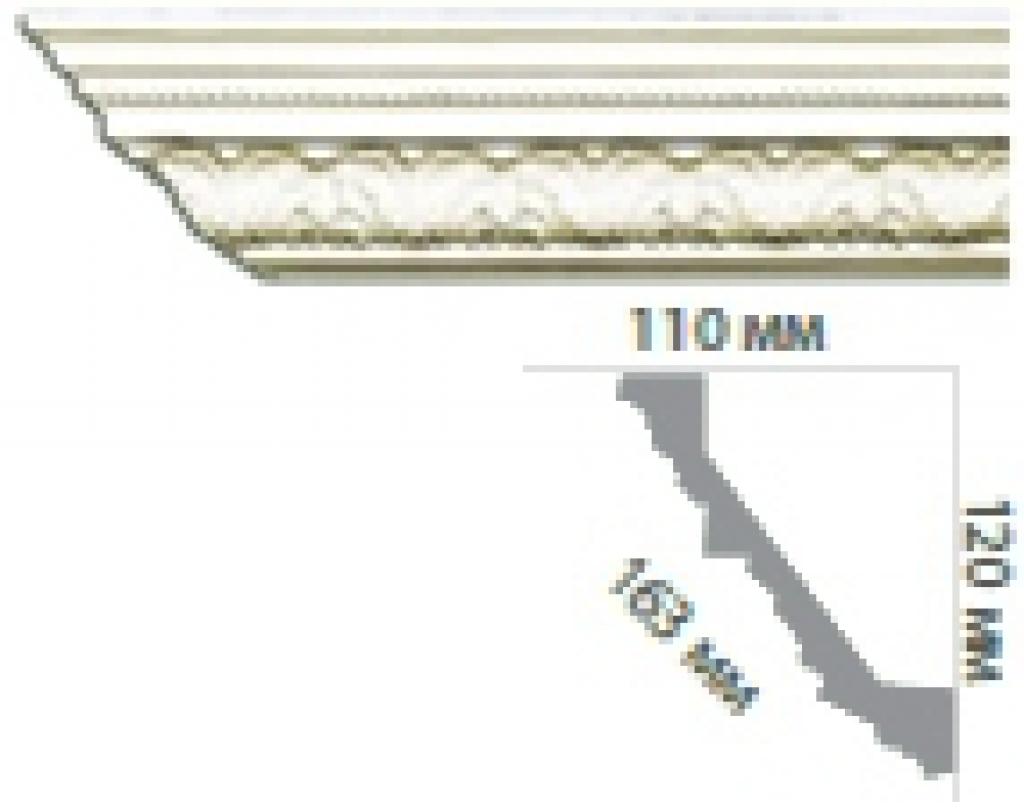 Карниз с орнаментом C158