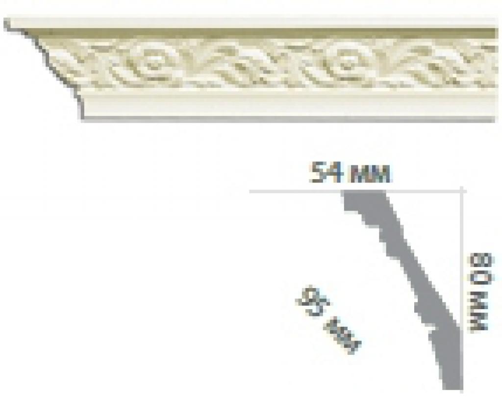 Карниз с орнаментом C160 FLEXI