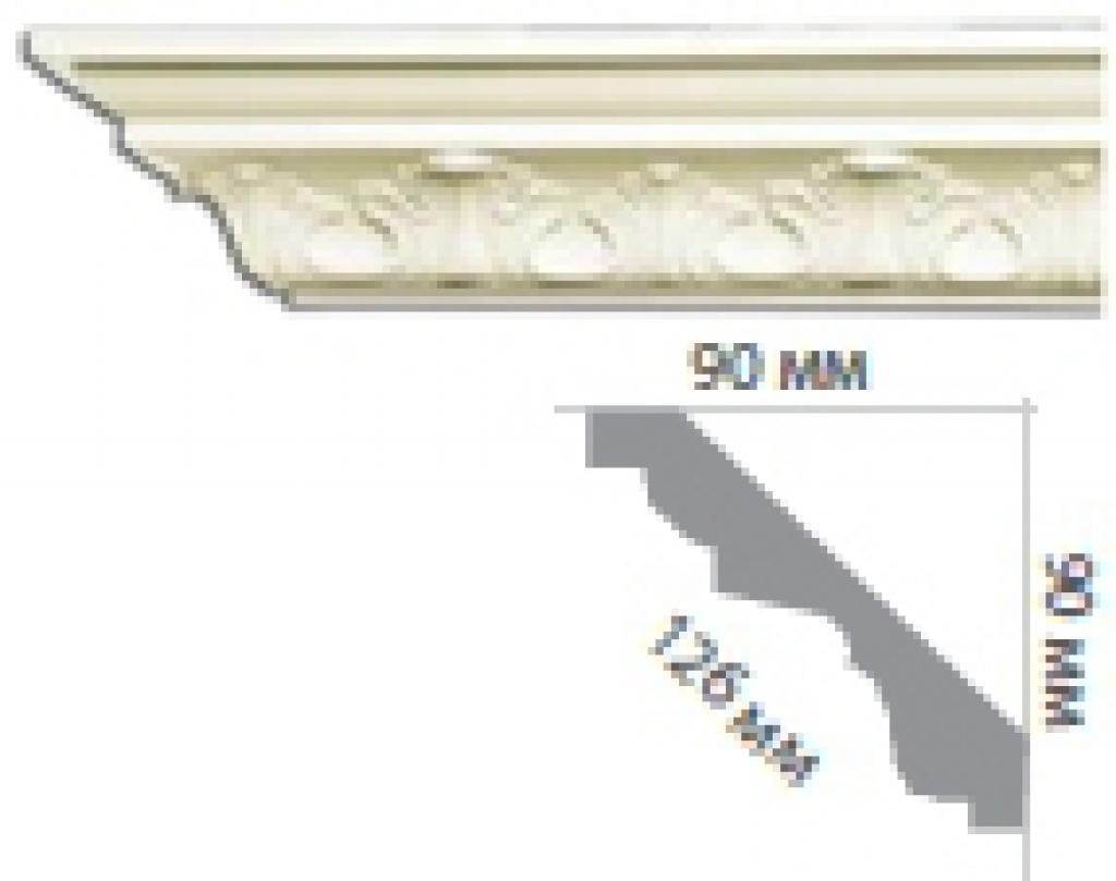 Карниз с орнаментом C177