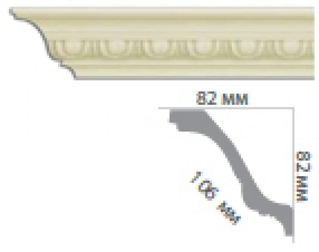 Карниз с орнаментом С18100