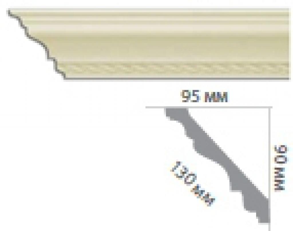 Карниз с орнаментом С1816
