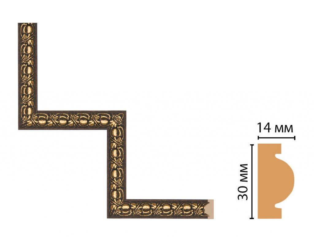 Декоративный угловой элемент DECOMASTER 157-1-56
