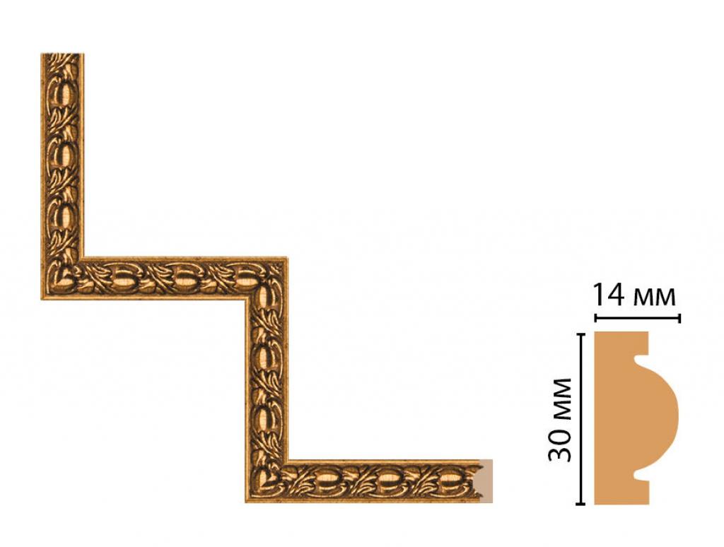 Декоративный угловой элемент DECOMASTER 157-1-58