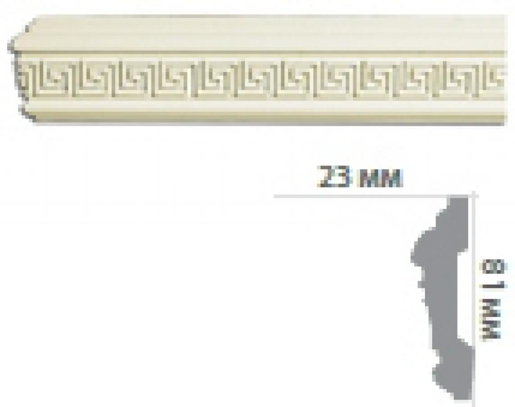 Молдинг с орнаментом CR153 FLEXI