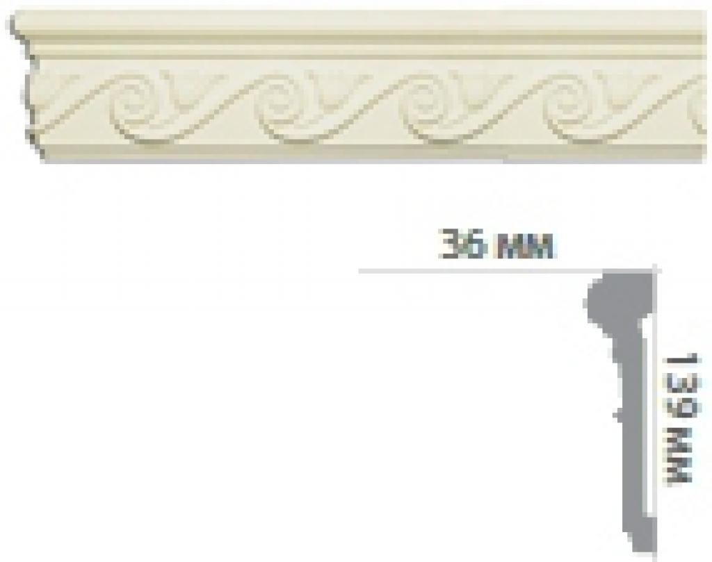 Молдинг с орнаментом CR3004
