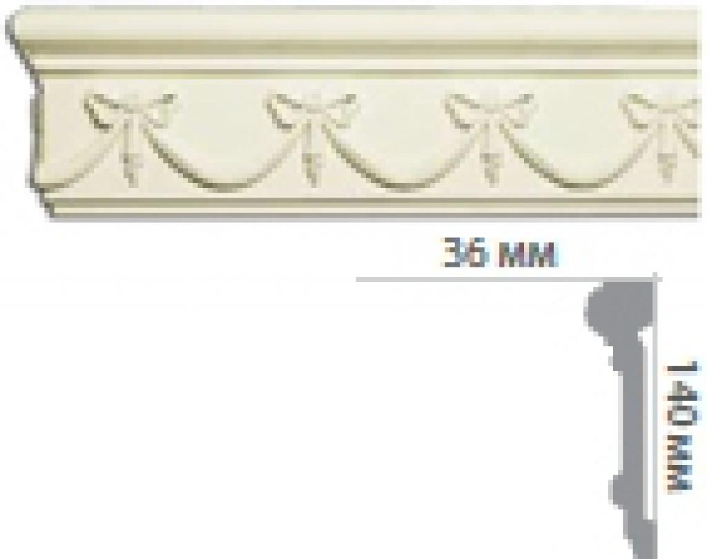 Молдинг с орнаментом CR3005