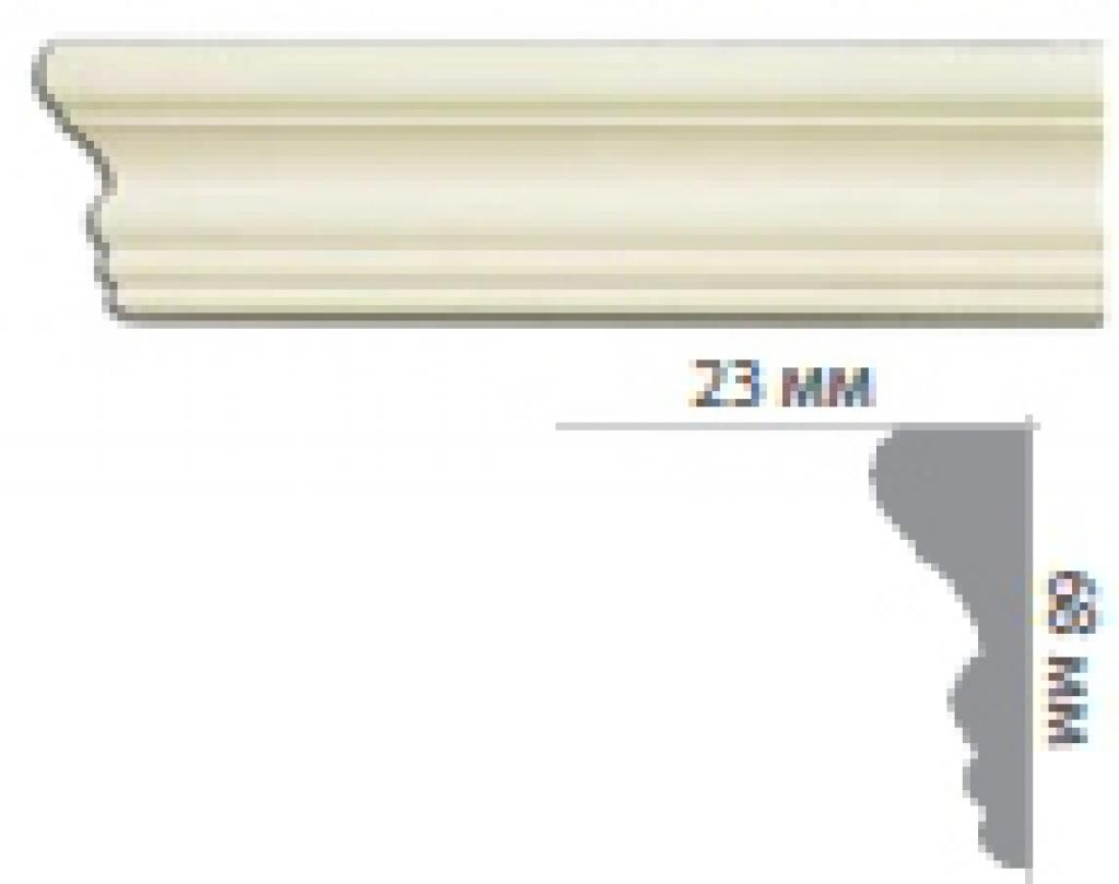 Молдинг с гладким профилем CR3006 FLEXI