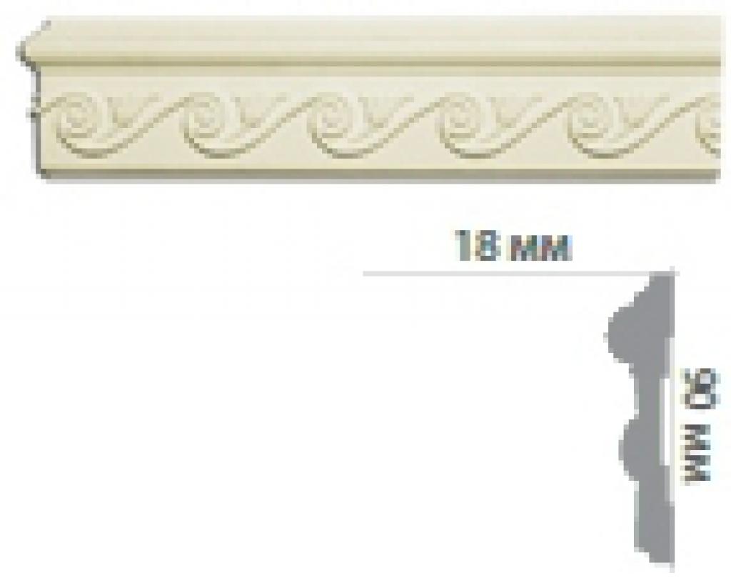 Молдинг с орнаментом СR3009