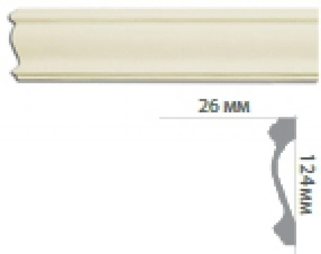 Молдинг с гладким профилем CR3043