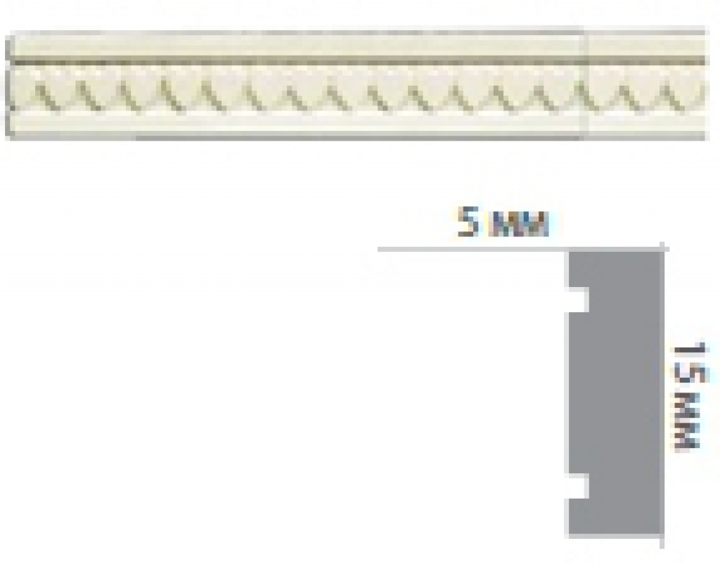 Молдинг с орнаментом CR3054