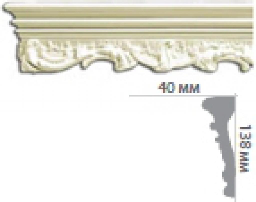 Молдинг с орнаментом CR608