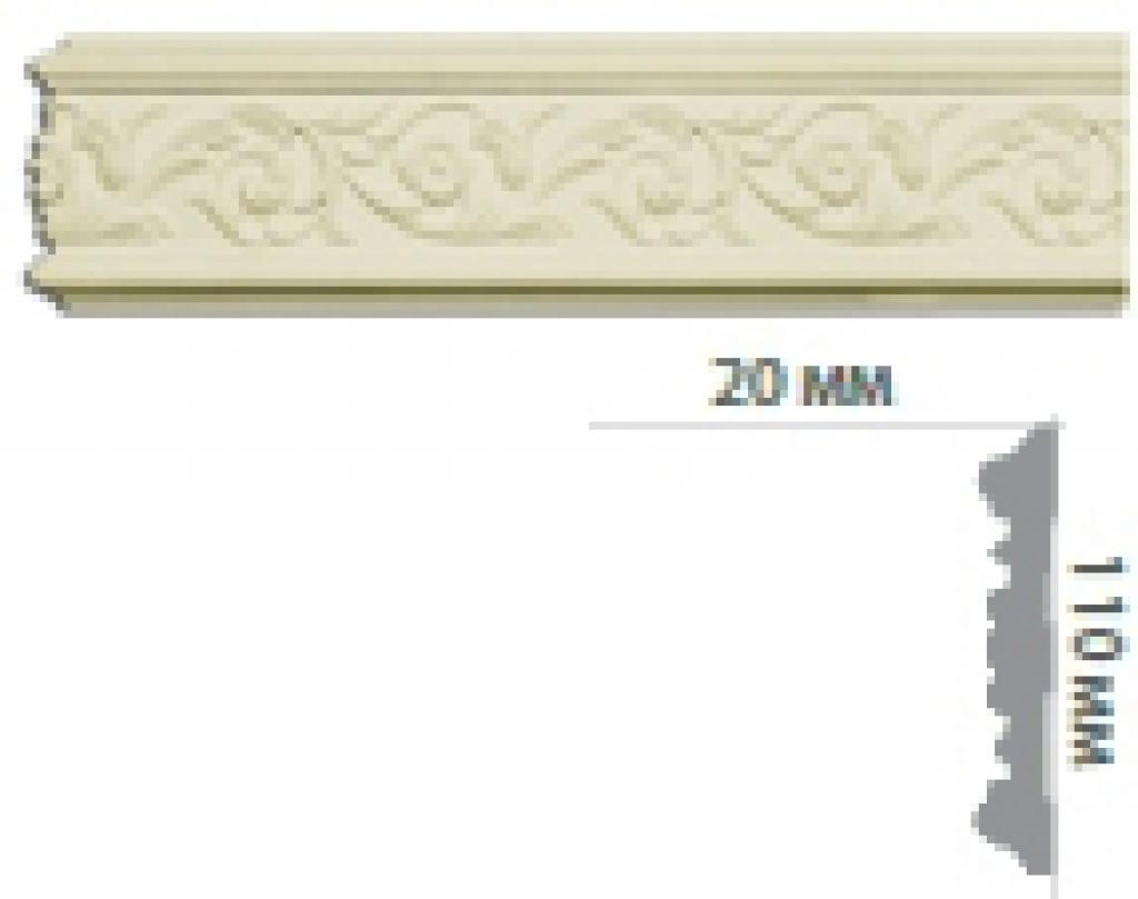 Молдинг с орнаментом CR632 FLEXI