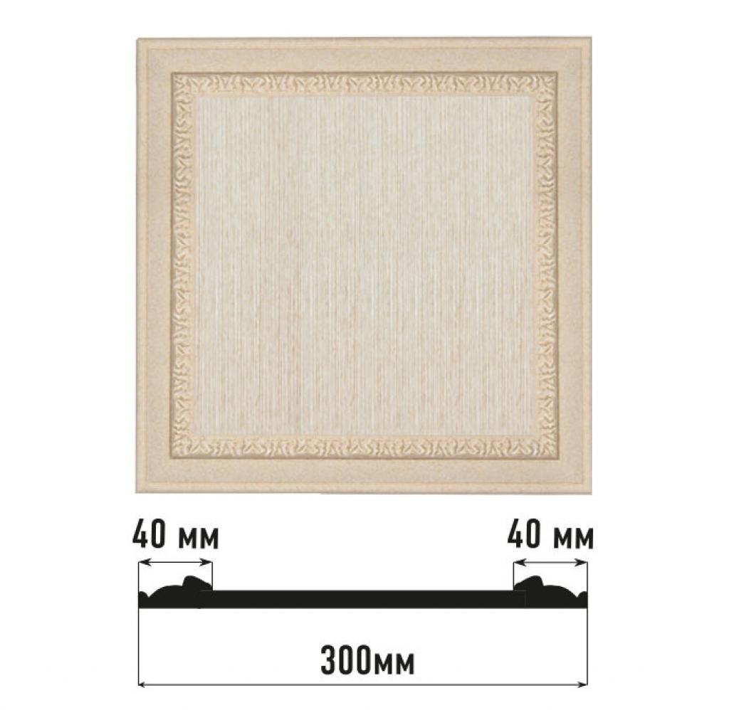 Декоративная панно DECOMASTER D30-18D
