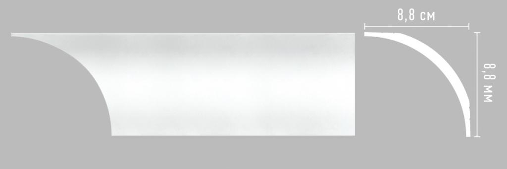Плинтус потолочный DECOMASTER A253