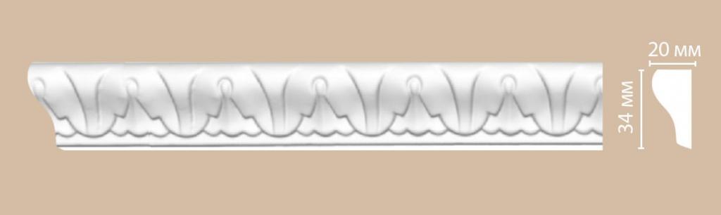 Молдинг с рисунком DECOMASTER 98031F гибкий