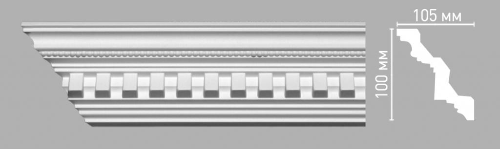 Плинтус потолочный DECOMASTER 95101/24