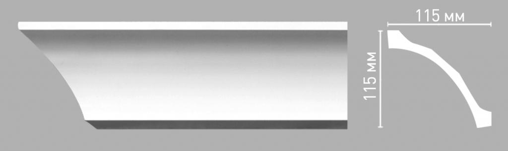 Плинтус потолочный DECOMASTER 96265/26