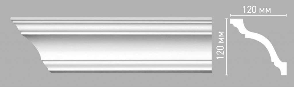 Плинтус потолочный DECOMASTER 96670/22