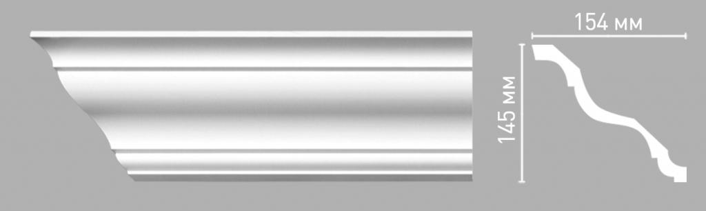 Плинтус потолочный DECOMASTER 96269/18