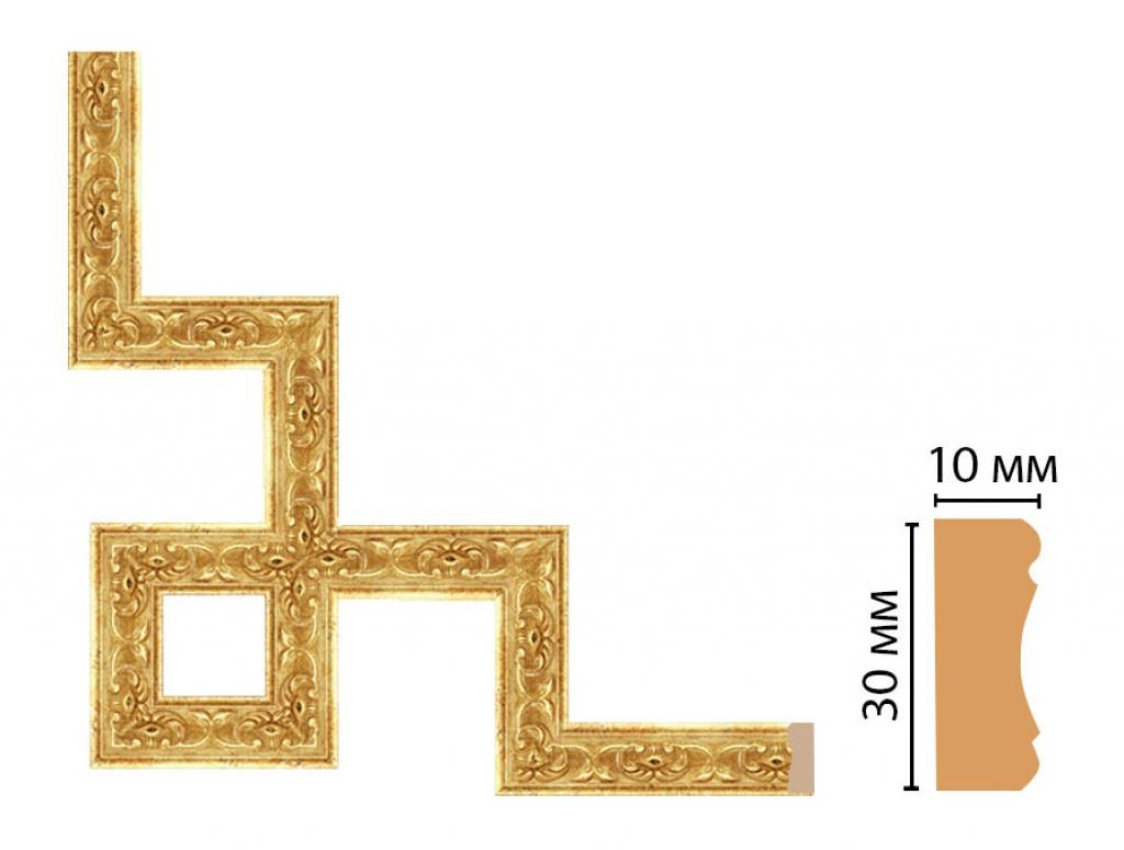 Декоративный угловой элемент DECOMASTER 165-3-126