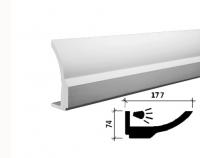 Карниз для скрытого освещения 1.50.211
