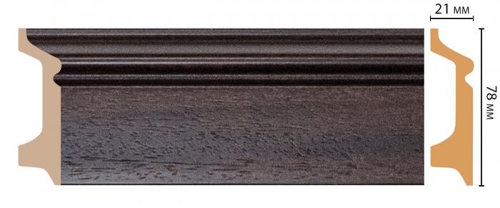 Плинтус напольный DECOMASTER D122-438AДМСП