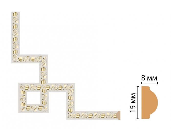 Декоративный угловой элемент DECOMASTER 130C-3-54