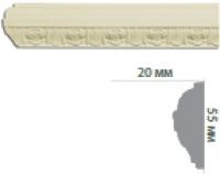 Молдинг с орнаментом CR601